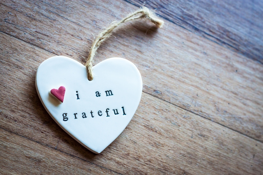 Why Being Thankful is Good for YourHealth